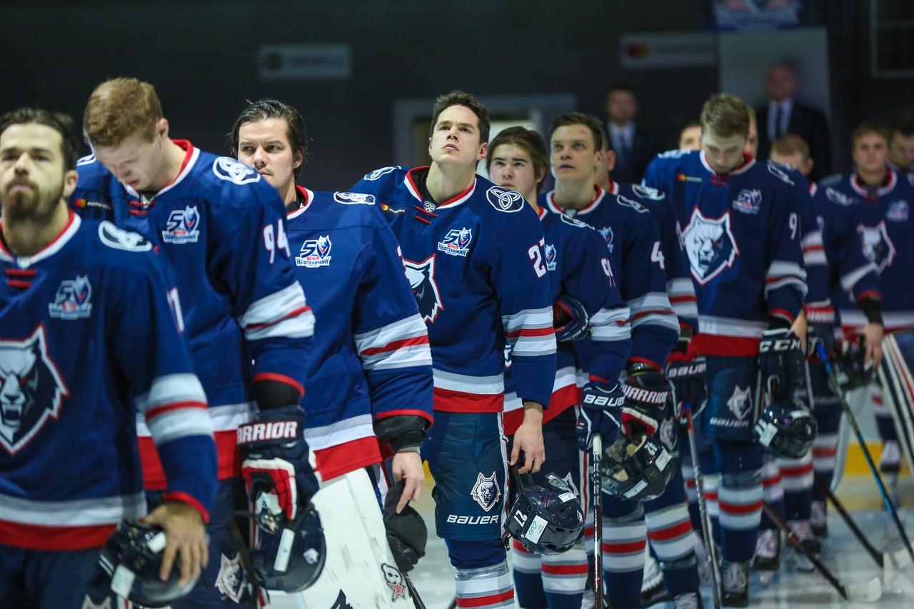 Чемпионат КХЛ: Нефтехимик — Динамо Рига
